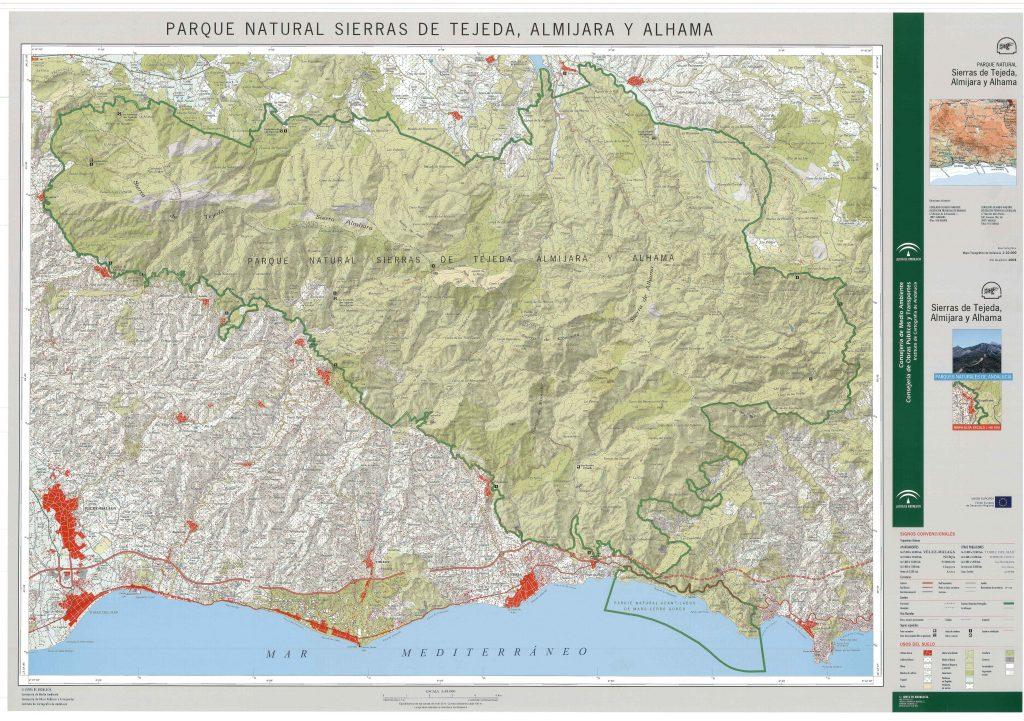 Descárgate el mapa completo desde la Junta de Andalucía